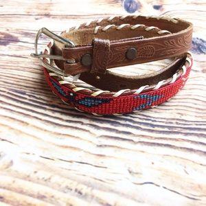 Accessories - Vintage Hand Beaded Belt